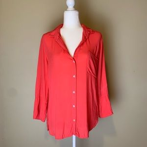 Anthropologie Cloth and Stone Blouse #3026